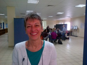 Lisa, our workshop leader from the International School of Amsterdam