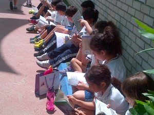 Reading in The Playground